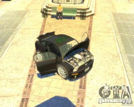 Ford Mustang Mini GT Beta для GTA 4 вид слева
