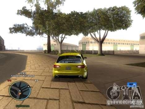 Электронный спидометр для GTA San Andreas четвёртый скриншот