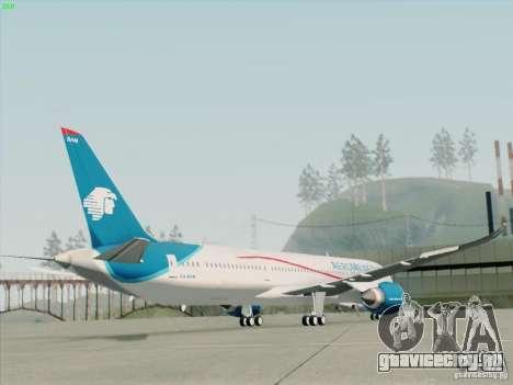 Boeing 787-8 Dreamliner AeroMexico для GTA San Andreas вид слева