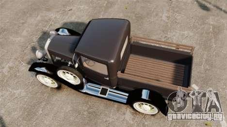 Ford Model T Truck 1927 для GTA 4 вид справа