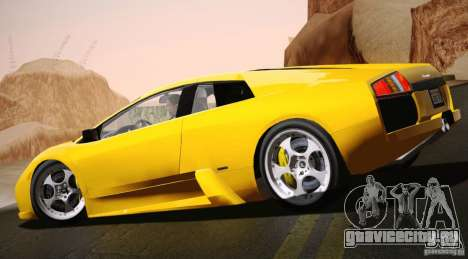 Lamborghini Murcielago 2002 v 1.0 для GTA San Andreas вид слева