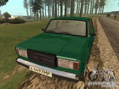 ВАЗ 2107 1988 для GTA San Andreas