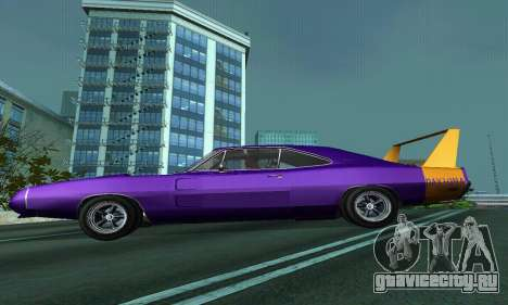 Dodge Charger Daytona SRT10 для GTA San Andreas вид справа