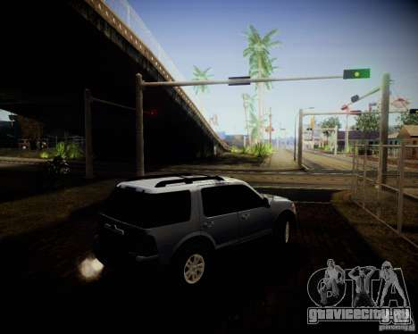 Ford Explorer для GTA San Andreas вид изнутри