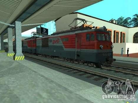 ВЛ10-1628 РЖД для GTA San Andreas вид слева