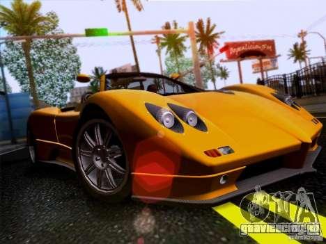 Pagani Zonda C12S Roadster для GTA San Andreas