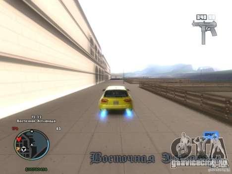 Электронный спидометр для GTA San Andreas третий скриншот