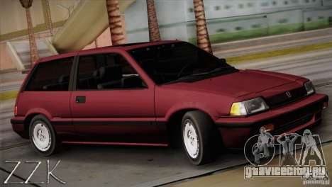 Honda Civic Si Coupe для GTA San Andreas