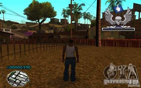 C-HUD awk William для GTA San Andreas третий скриншот