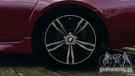 BMW M5 2012 для GTA 4 салон