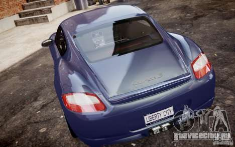 Porsche Cayman S 2006 EPM для GTA 4 вид справа