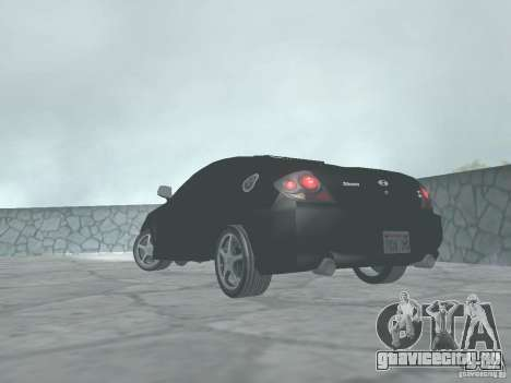 Hyundai Tiburon GT для GTA San Andreas вид слева