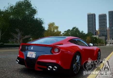 Ferrari F12 Berlinetta 2013 для GTA 4 вид слева