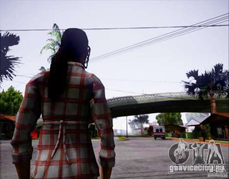 Serena Valdivia для GTA San Andreas второй скриншот