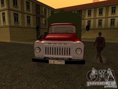 ГАЗ 52 для GTA San Andreas вид слева