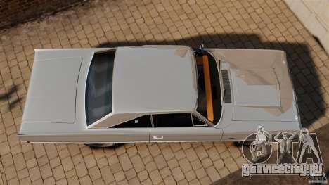 Dodge Coronet 1967 для GTA 4 вид справа