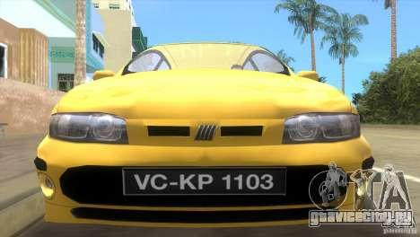 Fiat Bravo для GTA Vice City вид справа