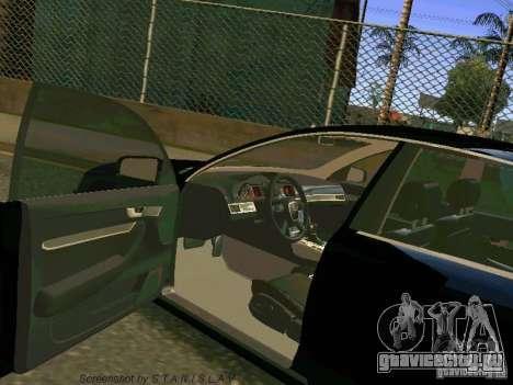 Audi A6 для GTA San Andreas вид сверху