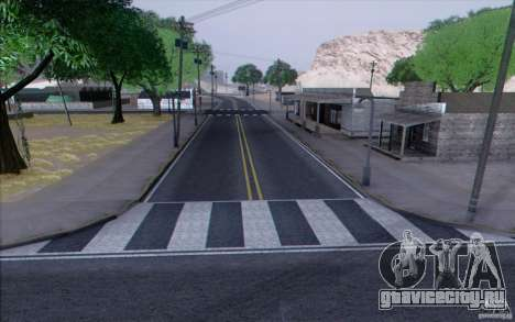 HD Дороги V3.0 для GTA San Andreas восьмой скриншот