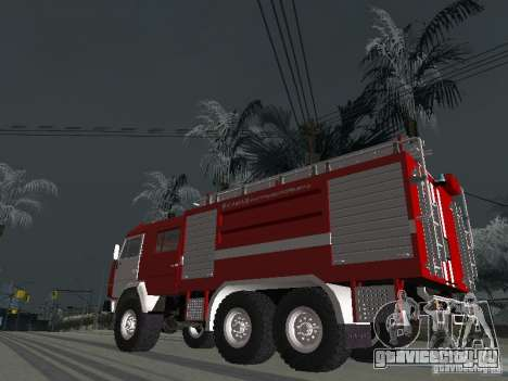 КамАЗ 43118 АЦ-7 для GTA San Andreas вид слева