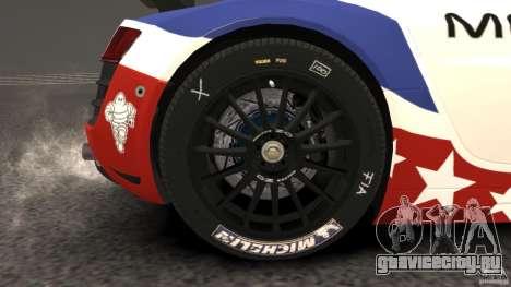 Audi R8 LMS для GTA 4 вид сбоку