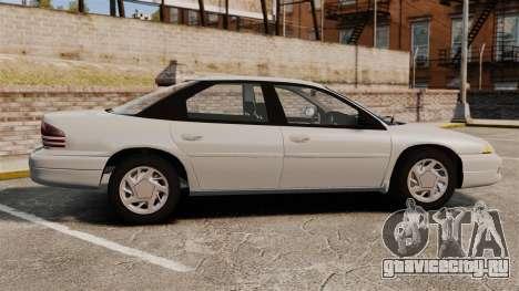 Dodge Intrepid 1993 Civil для GTA 4 вид слева