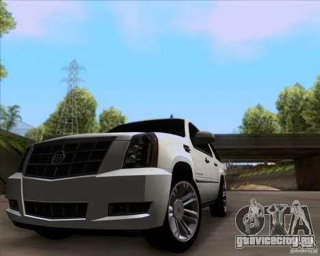 Cadillac Escalade ESV Platinum 2013 для GTA San Andreas вид слева