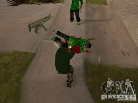 Пользоваться складом вашей банды для GTA San Andreas пятый скриншот