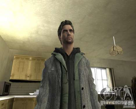 Аlan Wake для GTA San Andreas пятый скриншот