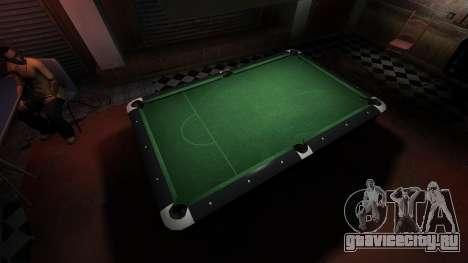 Улучшенный бильярдный стол в баре 8 шаров для GTA 4 четвёртый скриншот