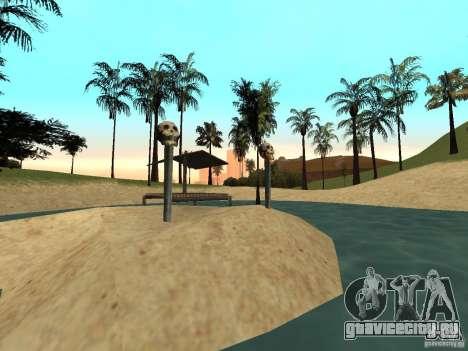 Volcano для GTA San Andreas второй скриншот