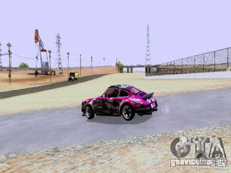 Porsche 911 Pink Power для GTA San Andreas вид справа