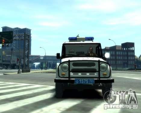 УАЗ 31512 Полиция для GTA 4 вид слева