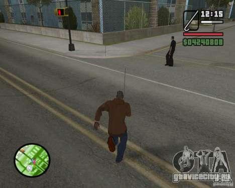Новый HUD для GTA San Andreas пятый скриншот