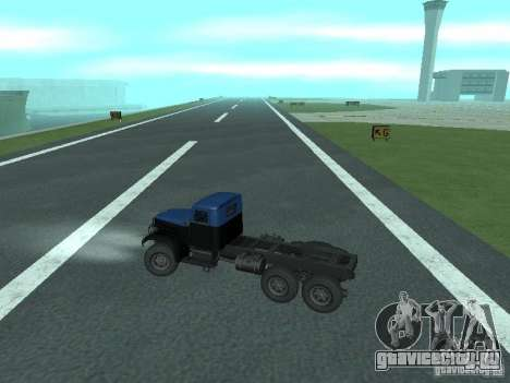 ЯАЗ 214 для GTA San Andreas вид сзади