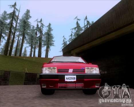 Fiat Tempra 1998 Tuning для GTA San Andreas вид сзади слева