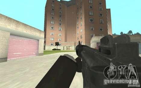 Новая анимация стрельбы  из GTA IV для GTA San Andreas третий скриншот