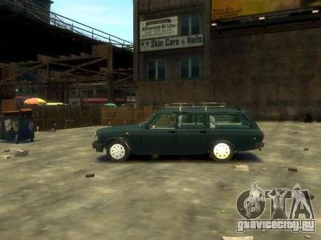 ГАЗ 310221 Универсал для GTA 4 вид слева