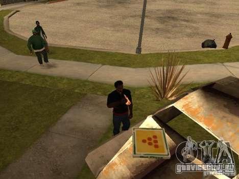 Голодный CJ v.3 final для GTA San Andreas второй скриншот