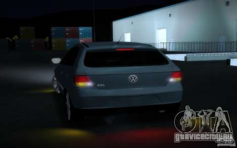 Volkswagen Golf G5 для GTA San Andreas вид сзади