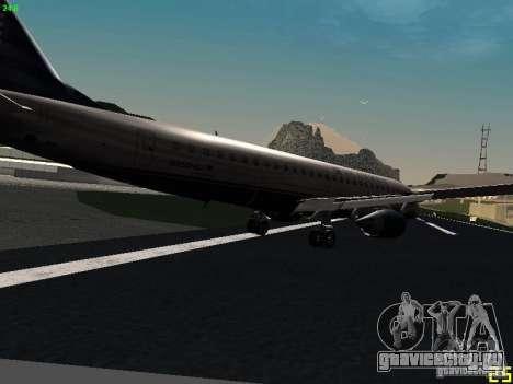 Embraer ERJ 190 USAirways для GTA San Andreas вид справа