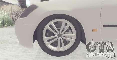 Infiniti M35 для GTA San Andreas вид слева