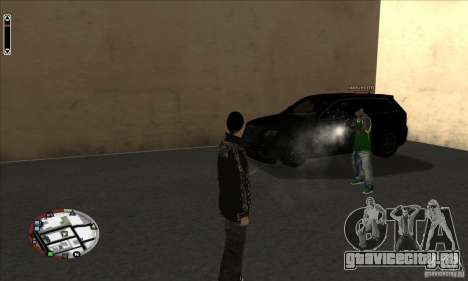 GodPlayer v1.0 for SAMP для GTA San Andreas второй скриншот