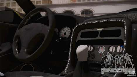Aston Martin DB7 Zagato 2003 для GTA San Andreas колёса