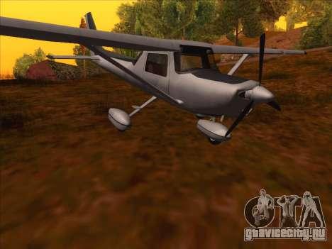 Cessna 152 v.2 для GTA San Andreas вид слева