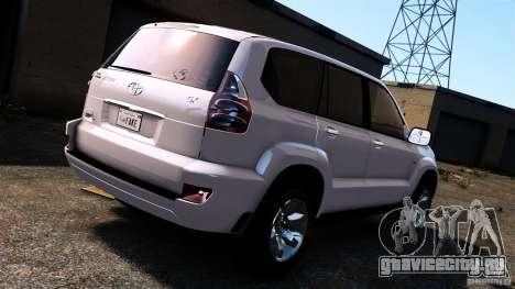 Toyota Land Cruiser Prado для GTA 4 вид справа