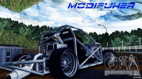Mazda MX-5 Tube Frame для GTA San Andreas вид справа