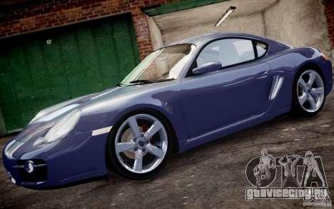 Porsche Cayman S 2006 EPM для GTA 4 вид слева