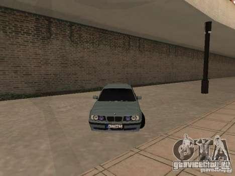 BMW E34 540i V8 для GTA San Andreas