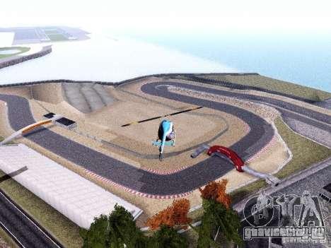 Laguna Seca Raceway для GTA San Andreas